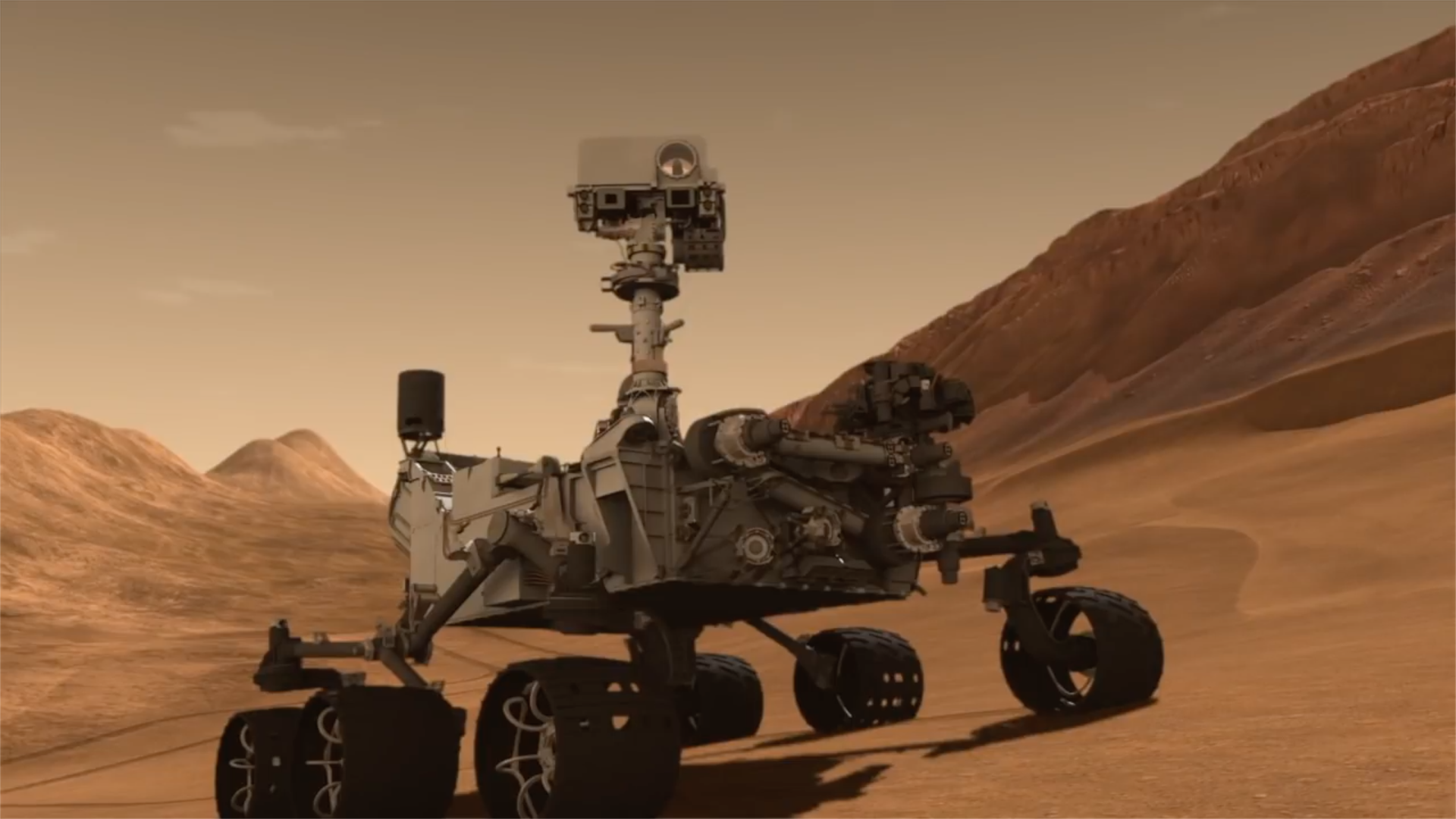 mars rover video - 1164×706